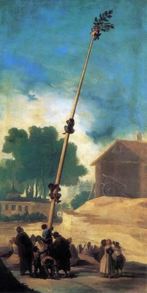 The Greasy Pole La Cucana
